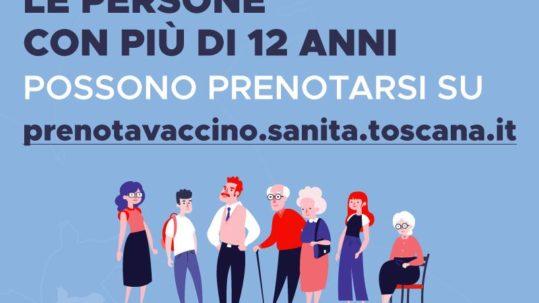 Prenotazione vaccino covid toscana